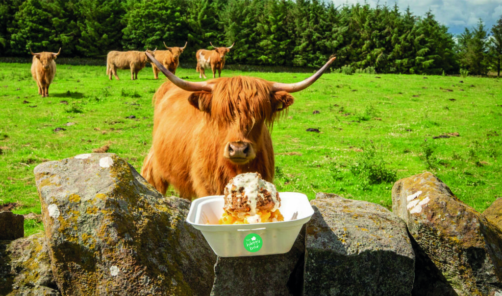 eat haggis edinburgh scotland